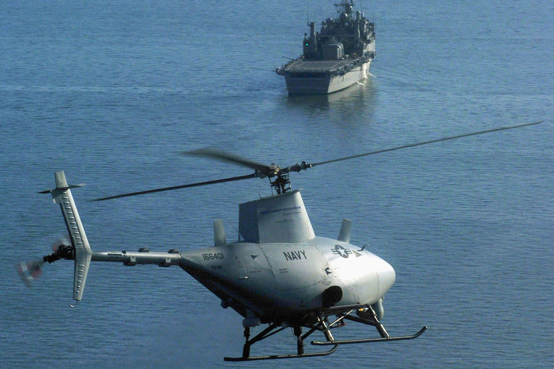 "Northop-Grumman RQ-8A ""Fire Scout"" Tactical Unmanned Aerial Vehicle (VTUAV) System"